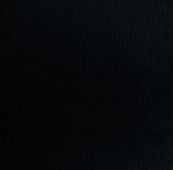 Rovere verniciato nero